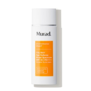 Murad City Skin® Age Defense Broad Spectrum SPF 50 PA++++  - Best Sunscreen Lotion for Face: Sunscreen for Protection and Even Out Skin Tone