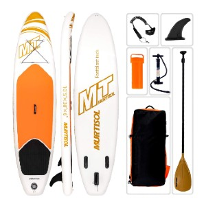 Murtisol 10'5'' Inflatable Stand Up Paddle Board - Best Paddle Boards Under $500: Durable and Stable Inflatable Paddle Board