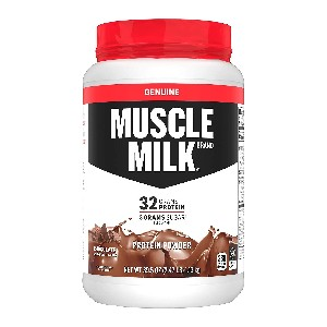 Muscle Milk Genuine Protein Powder - Best Mass Gainer for Skinny Guys: Excellent Source of Calcium and Vitamins A, C, and D