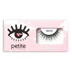 Petite Cosmetics Muse - Best Lashes for Monolids: Super Soft Cotton Band