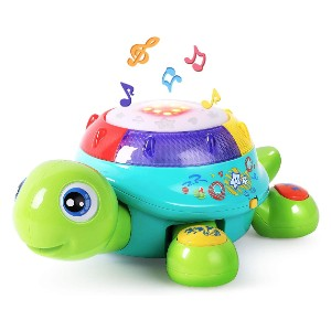 iPlay, iLearn  Munchkin Mozart Magic Cube  - Best Musical Toys for 6 Month Old: Extending tummy time