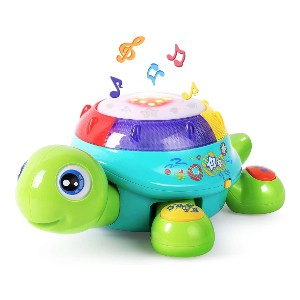 iPlay, iLearn Musical Turtle Toy - Best Musical Toys for 2 Year Olds: Extending tummy time