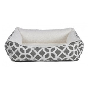 Muttropolis Chenille Oslo Ortho Dog Bed - Best Dog Beds for Older Dogs: Cushion Bed Material