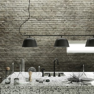 Muuto Ambit Rail lamp - Best Ceiling Light for Kitchen: Three Floating Lamp