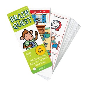 Chris Welles Feder My First Brain Quest Q&A Cards - Best Flashcards for 2 Year Olds: Improving speech skills