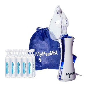 MyPurMist Classic Handheld Personal Vaporizer and Humidifier  - Best Home Nebulizers: Germ-free steam