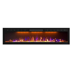Mystflame 72 inch Electric Fireplace - Best Electric Fireplace for Large Room: Best for long wall