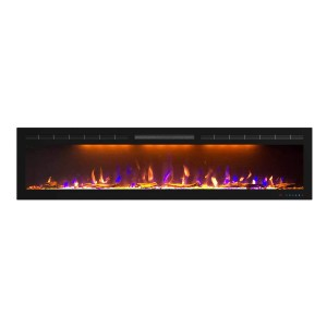Mystflame 72 inch Electric Fireplace  - Best Electric Fireplace Wall Mount: Best for long wall