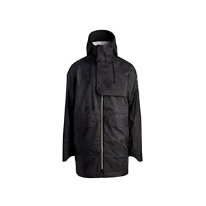 CANADA GOOSE N00 JACKET  - Best Raincoats Under 1000: Drop Down Tail At Back Can Be Unsnapped