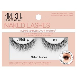 ARDELL NAKED LASH 421 - Best Lashes for Big Eyes: Features A Super Soft and Comfortable Invisiband