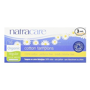 Natracare Organic Regular Tampons  - Best Organic Cotton Tampons: Best overall