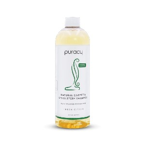 Puracy NATURAL CARPET & UPHOLSTERY SHAMPOO - Best Cleaning Solution for Upholstery: Clinical Grade Natural Ingredients