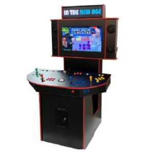 IN THE NEW AGE NEW AGE ARCADE SHOWCASE Arcade Machine - Best Multi Game Arcade Machine: Easy Onscreen Menu System