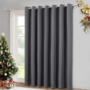 NICETOWN Patio Sliding Door Curtain - Best Curtains for Sliding Glass Doors: Curtain with Triple-Weave Polyester Fabric