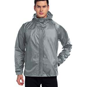 NICEWIN Men's Rain Jacket - Best Raincoats for Men: Simple but useful