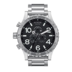 NIXON 51-30 Chrono Watch  - Best Waterproof Watches: Solid Stainless Steel Construction