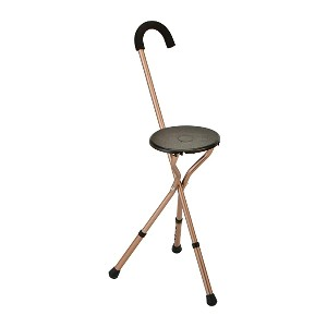 NOVA Medical Products Folding Seat Cane - Best Cane for Heavy Person: For every occasion