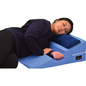 NOVA Medical Products Bed Wedge for Back & Side Sleepers - Best Pillow After Shoulder Surgery: Pillow with Unique Arm Out
