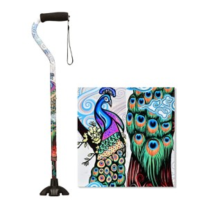 NOVA Medical Products Sugarcane - Best Walking Cane for Elderly Woman: Fade- and chip-resistant surface