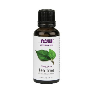 Now Essential Oils Tea Tree Oil, 1 Fluid Ounce (Pack of 2) - Best Scalp Oil for Dandruff: Spicy Aroma Oil for Nourish Scalp