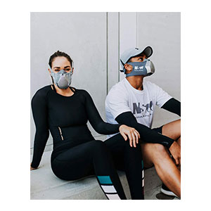 NS NESIAN SPORTS Hex Training Mask - Best Masks for Working Out: A Friendly Mask for Working Out.