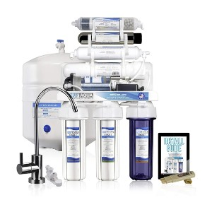 NU Aqua Platinum Series 7 Stage - Best Water Filtration Home System: 100 GPD Flow Rate