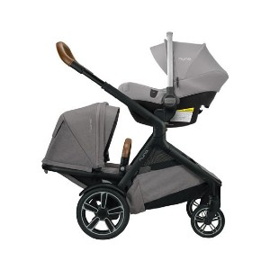 NUNA DEMI GROW - Best Stroller for Baby: Rotating and Removable Arm Bar Fits Kids of All Sizes