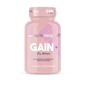 Nutrithick GAIN+  - Best Mass Gainer for Women: No Harmful Chemicals or Side Effects