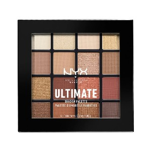 NYX Professional Makeup Warm Neutrals Ultimate Shadow Palette - Best Eyeshadow Palettes for Green Eyes: New Neutral Shades Palette