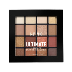 NYX Professional Makeup Ultimate Shadow Palette - Best Affordable Eyeshadow Palette: Blendable Eyeshadow Palette