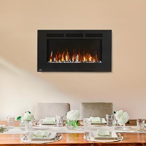 Napoleon 42-In Allure Wall Mount Electric Fireplace - Best Electric Fireplace Wall Mount: Best high-end pick