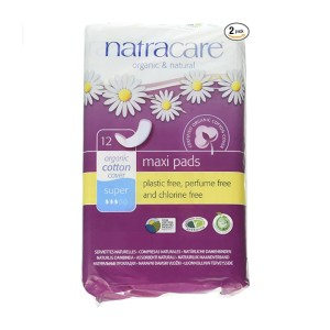 Natracare Maxi Pads Super - Best Organic Maxi Pads: Stay in place