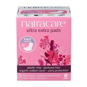 Natracare Ultra Extra Pads with Wings - Best Organic Pads for Heavy Flow: Biodegrade naturally