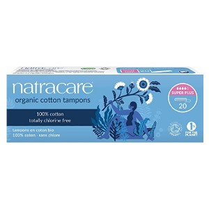 Natracare Organic Cotton Tampons - Best Organic Tampons for Heavy Flow: For the start of your period