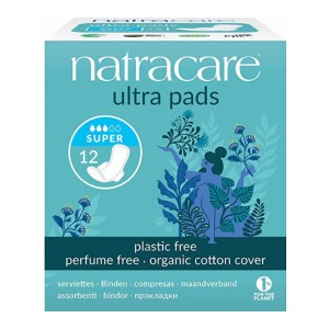 Natracare  Ultra Super Pads - Best Organic Menstrual Pads:  Thin yet ultra-absorbent
