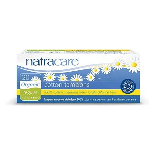 Natracare Organic Cotton Tampons - Best Organic Tampons for Beginners: Best overall