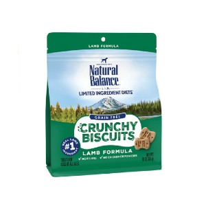 Natural Balance Limited Ingredient Diets Grain-Free Crunchy Biscuits - Best Biscuits for Dogs: Crunchy Biscuits