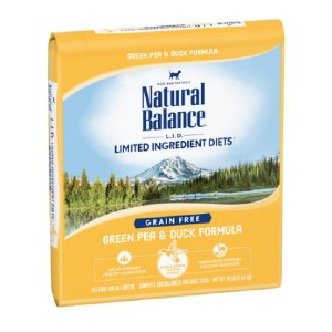 Natural Balance L.I.D. Limited Ingredient Diets Green Pea & Duck Formula Grain-Free Dry Cat Food - Best Food for Cats with Allergies: Affordable Food for Allergies