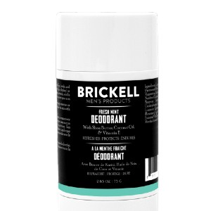 Brickell Men's Products Natural Deodorant For Men - Best Deodorant for Men: Keep You Smelling Fresh and Clean All Day Long