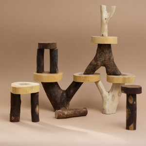 Happy Little People Natural Timber Balancing Trees - Best Wooden Stacking Toys: A great decoration