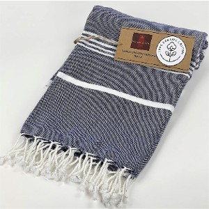Nature Is Gift Organic 100% Cotton Peshtemal Towels - Best Towels for Beach: Easy-To-Pack Towel