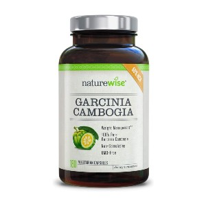NatureWise Pure Garcinia Cambogia  - Best Appetite Suppressants on Amazon: Natural Cambogia Extract Supplement