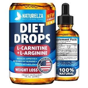 Naturelza Weight Loss Drops - Best Appetite Suppressants and Fat Burners: Dietary Supplement