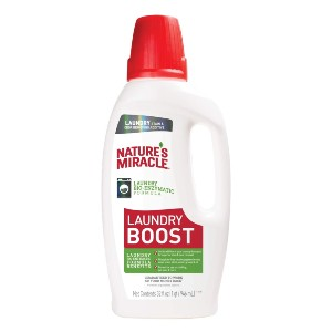 Nature's Miracle Laundry Stain and Odor Removing Additive - Best Laundry Detergents for Grease and Oil: Powerful Stain and Odor Remover
