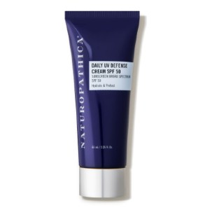Naturopathica Daily UV Defense Cream SPF 50 - Best Sunscreen Lotion for Face: Natural Sunscreen