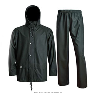 Navis Marine Waterproof Jacket with Pants - Best Raincoat for Boating: Raincoat with Zipper and Velcro Secure