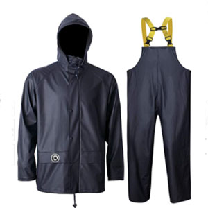 Navis Marine Rain Jacket Men Women Waterproof  - Best Raincoats for Fishing: Raincoat with The Backing Tricot Fabric