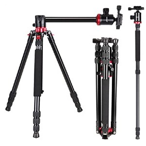 Neewer Camera Tripod Monopod - Best Tripods for Food Photography: Rotatable center column