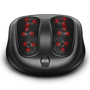 Nekteck Foot Massager with Heat - Best Foot Massager Under $100: Versatile Design