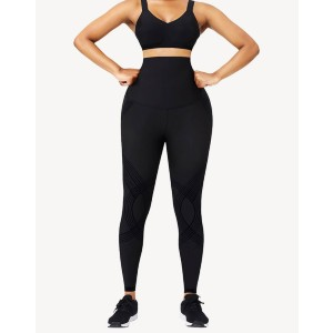 Shapellx NeoSweat™ High Waisted Tummy Control Leggings - Best Leggings for Running: Weightless and Stretching Fabric